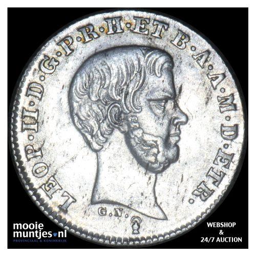 1/2 paolo - Italian States/Tuscany 1853 (KM C# 68a) (kant B)