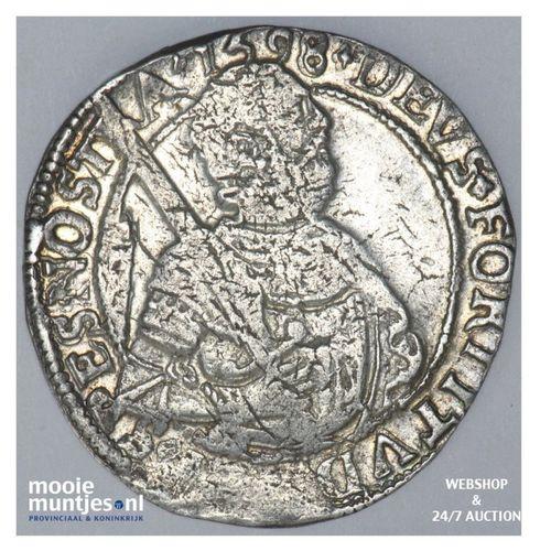 West-Friesland - Halve gehelmde rijksdaalder of halve Prinsendaalder  - 1598 (ka