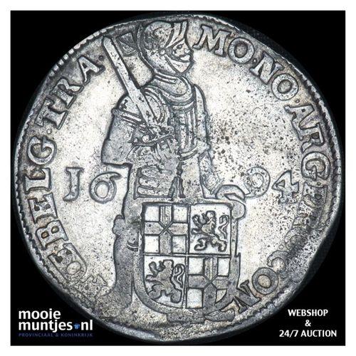 Utrecht - Zilveren dukaat - 1694 (kant A)