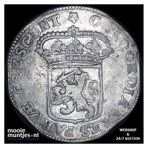 Utrecht - Zilveren dukaat - 1694 (kant B)