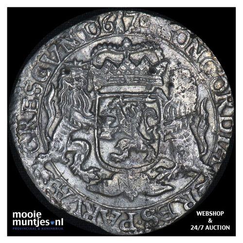 Gelderland - Zilveren rijder of dukaton - 1670 (kant A)