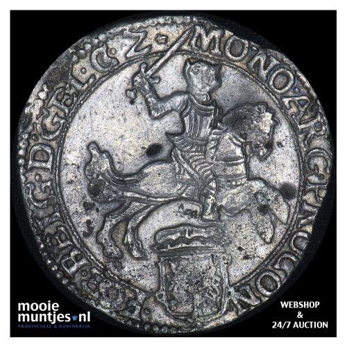 Gelderland - Zilveren rijder of dukaton - 1670 (kant B)