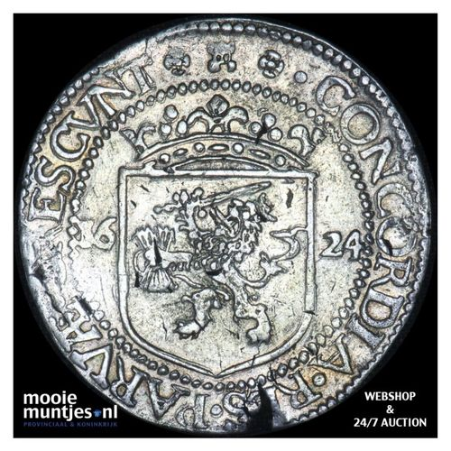 Zeeland - Nederlandse rijksdaalder - 1624 (kant A)
