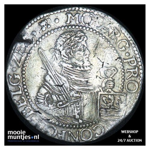 Zeeland - Nederlandse rijksdaalder - 1624 (kant B)