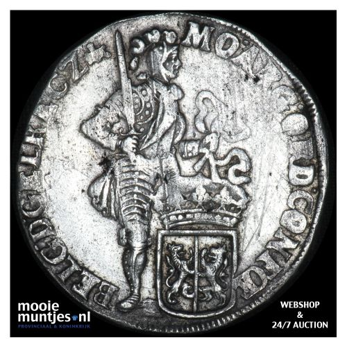 Gelderland - Zilveren dukaat - 1699 (kant B)