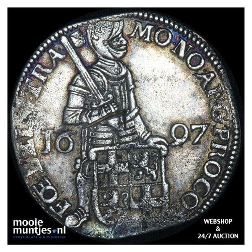 Utrecht - Zilveren dukaat - 1697 (kant A)