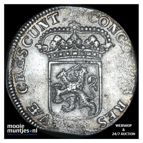 Utrecht - Zilveren dukaat - 1697 (kant B)