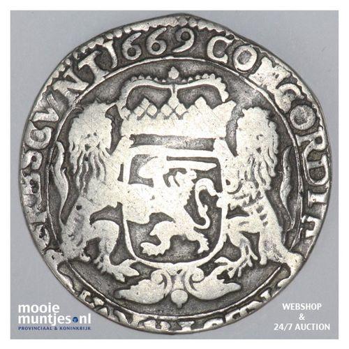 Kampen - Zilveren rijder of dukaton - 1669 (kant A)