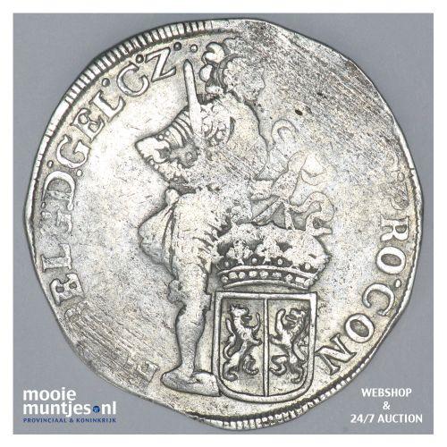 Gelderland - Zilveren dukaat - 1698 over 97 (kant B)