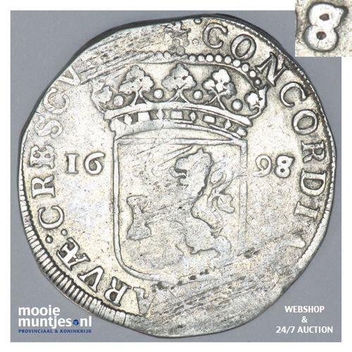 Gelderland - Zilveren dukaat - 1698 over 97 (kant A)