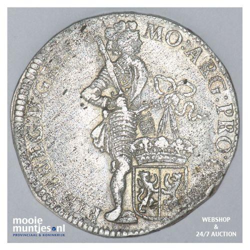 Gelderland - Zilveren dukaat - 1707 (kant B)