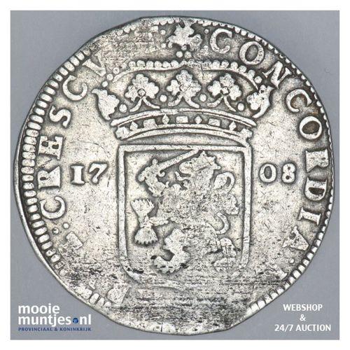 Gelderland - Zilveren dukaat - 1708 (kant A)