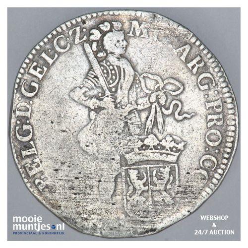 Gelderland - Zilveren dukaat - 1708 (kant B)