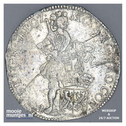 Gelderland - Zilveren dukaat - 1708 over 07 (kant B)