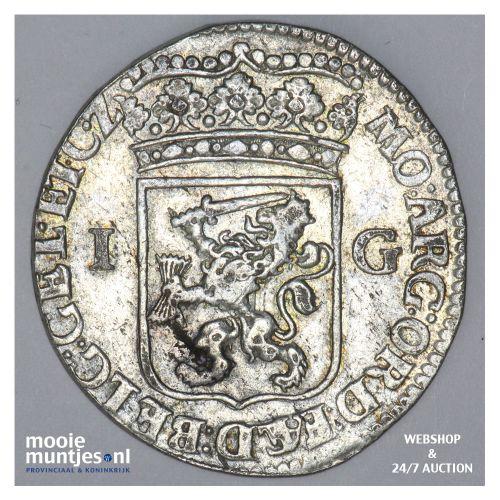 Gelderland - Gulden - 1706 (kant B)