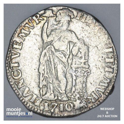 Gelderland - Gulden - 1710 (kant A)