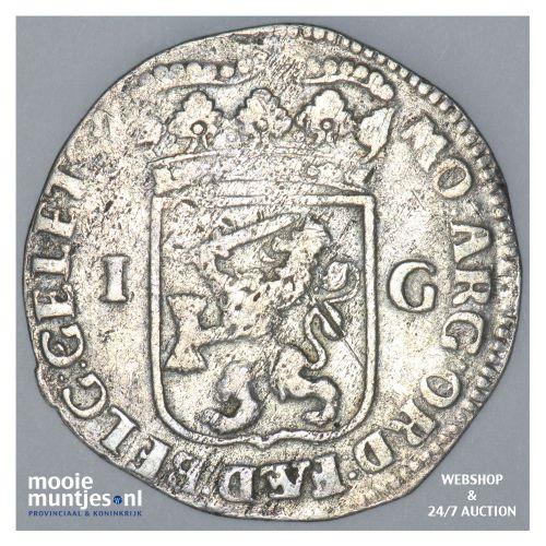 Gelderland - Gulden - 1710 (kant B)
