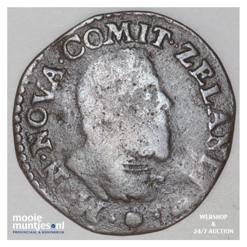 Zeeland - Oord - 1657 (kant B)