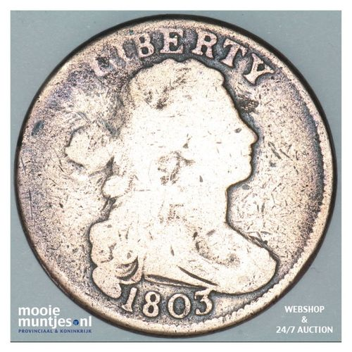 cent - draped bust - United States of America/Circulation coinage 1803 (KM 22) (