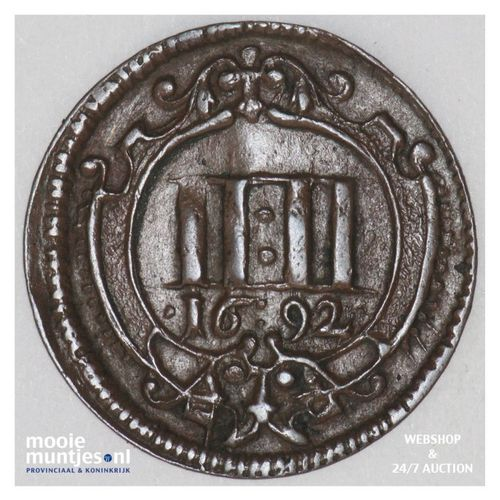 4 pfennig - cathedral chapter - German States/Munster 1692 (KM 419) (kant A)