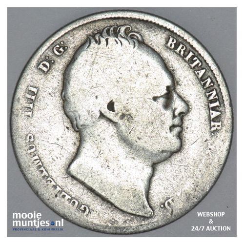 1/2 crown - Great Britain 1834 (KM 714.2) (kant B)