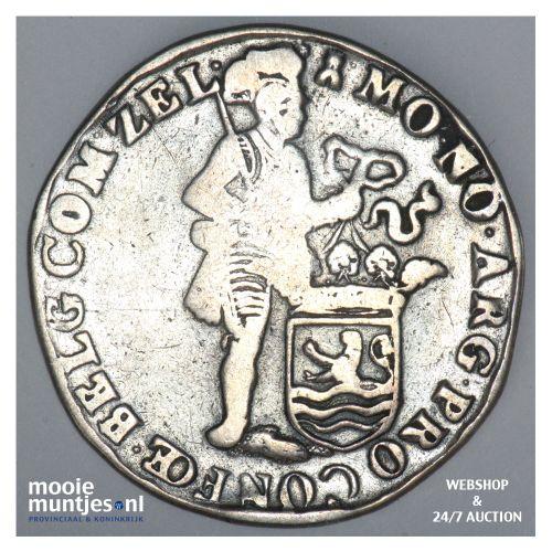 Zeeland - Zilveren dukaat - 1706 (kant B)