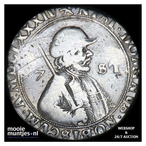 Friesland - Zeven stuiver of kwart florijn - 1684 (kant A)
