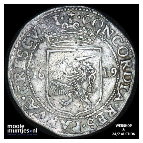 Utrecht - Halve Nederlandse rijksdaalder - 1619 (kant A)
