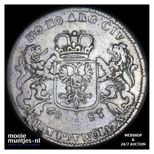 Nijmegen - Dubbele daalder - 1689 (kant B)