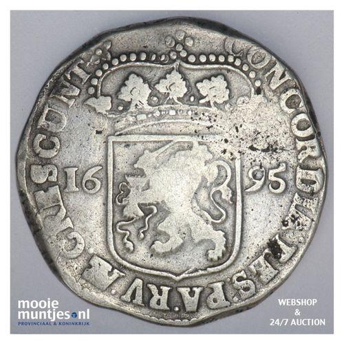 Overijssel - Zilveren dukaat - 1695 (kant A)