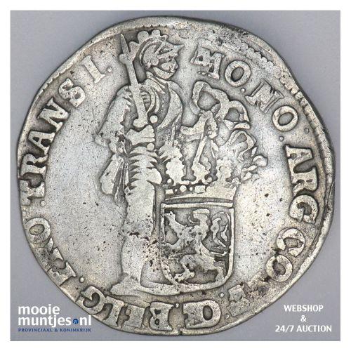 Overijssel - Zilveren dukaat - 1695 (kant B)