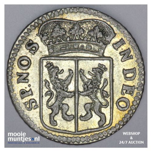 Gelderland - Duit - 1756 (kant B)
