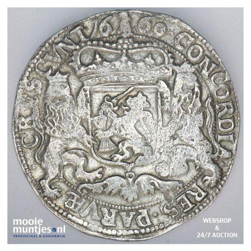 Gelderland - Zilveren rijder of dukaton - 1660 (kant A)