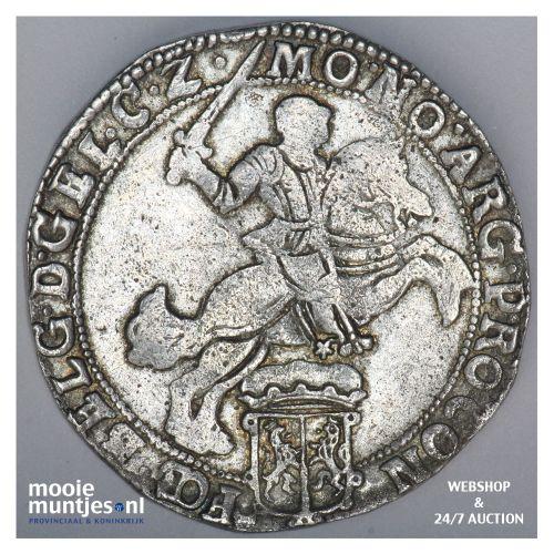 Gelderland - Zilveren rijder of dukaton - 1660 (kant B)