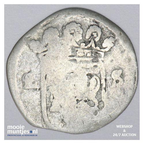 Overijssel - Dubbele stuiver - 1681 (kant B)
