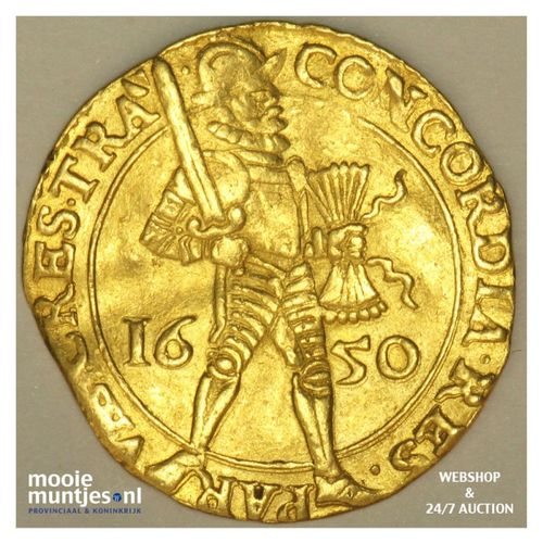 Utrecht - Gouden dukaat - 1650 (kant A)