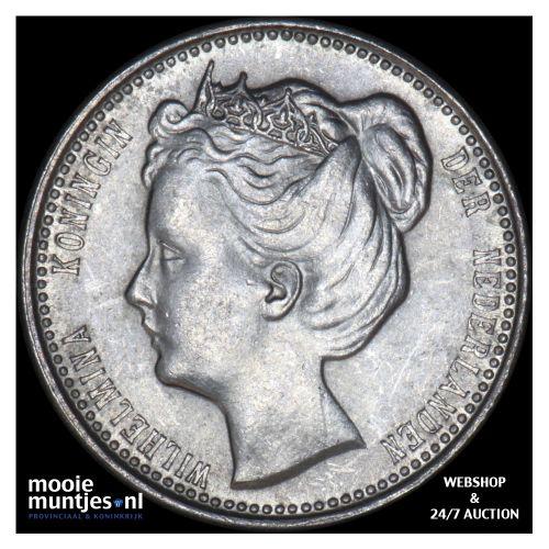 25 cent - Wilhelmina - 1903 (kant B)