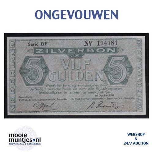 5 gulden - 1944 (Mev. 22-1c / AV 17) (kant A)