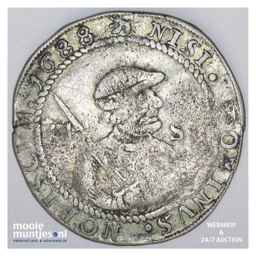 Friesland - Veertien stuiver of halve florijn - 1688 (kant A)