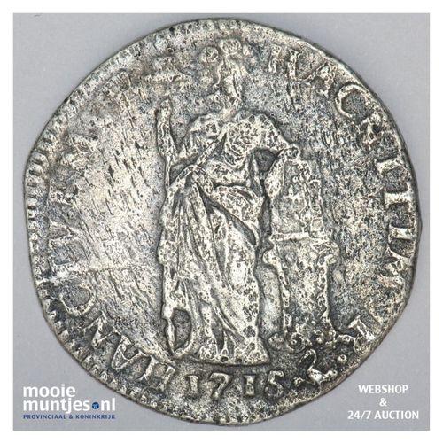Gelderland - Gulden - 1715 (kant A)