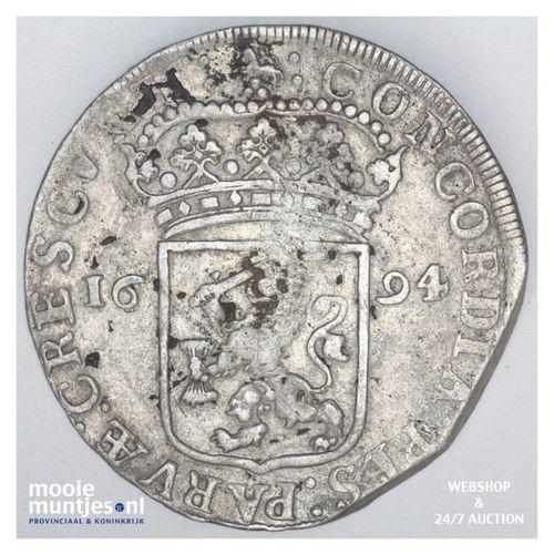 Gelderland - Zilveren dukaat - 1694 (kant A)