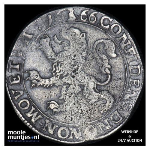 Deventer - Leeuwendaalder - 1666 (kant A)