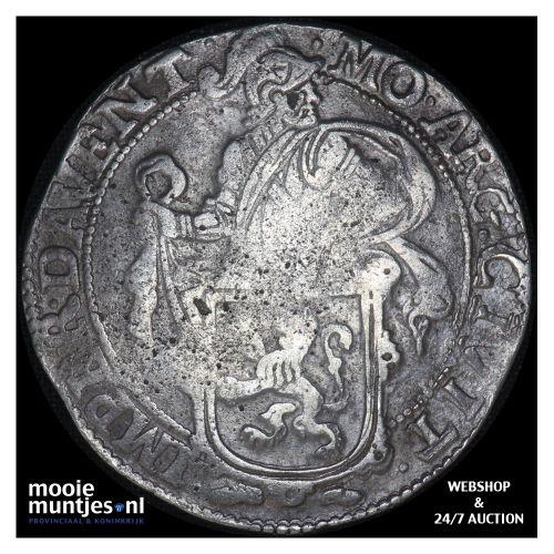 Deventer - Leeuwendaalder - 1666 (kant B)