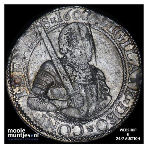 Holland - Gehelmde rijksdaalder of Prinsendaalder - 1602 (kant A)