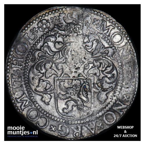 Holland - Gehelmde rijksdaalder of Prinsendaalder - 1602 (kant B)