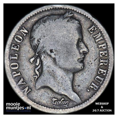 2 francs - France 1811 A (Paris) (KM 693.1) (kant B)