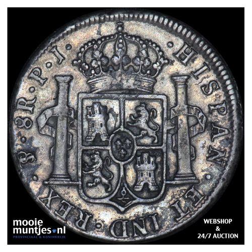 8 reales - colonial - Bolivia 1819 (KM 84) (kant B)