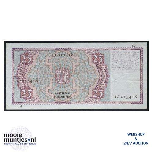 25 gulden - 1931 (Mev. 76-2 / AV 48) (kant B)
