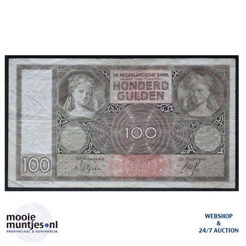 100 gulden - 1930 (Mev. 117-2 / AV 81) (kant A)