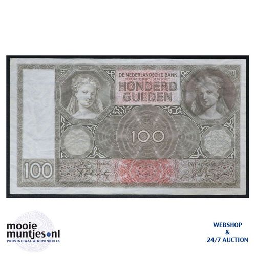 100 gulden - 1930 (Mev. 117-5 / AV 81) (kant A)